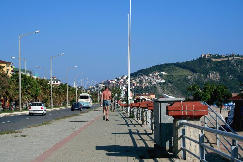 Città di Alanya fotografia stock libera da diritti