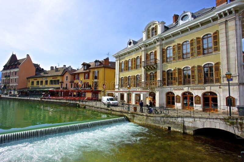 Città di Annecy immagini stock libere da diritti