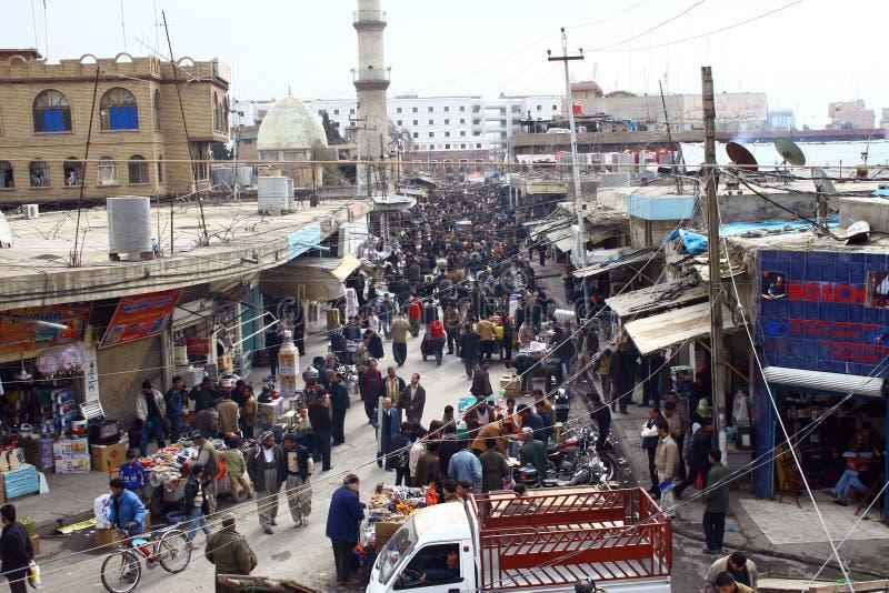 Città di Arbil fotografie stock