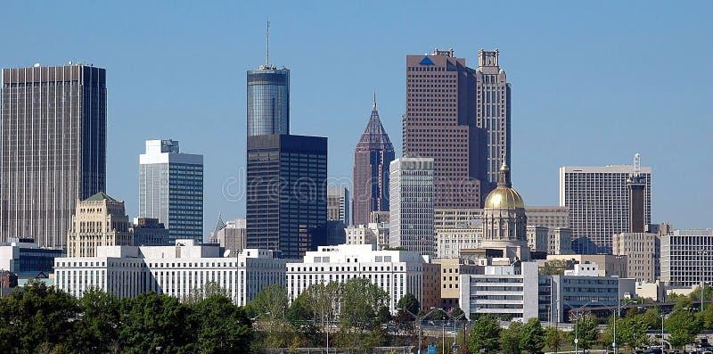 Città di Atlanta Georgia fotografia stock