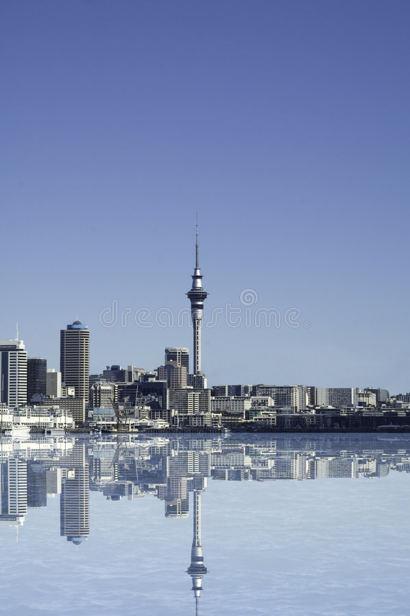 Città di Auckland royalty illustrazione gratis