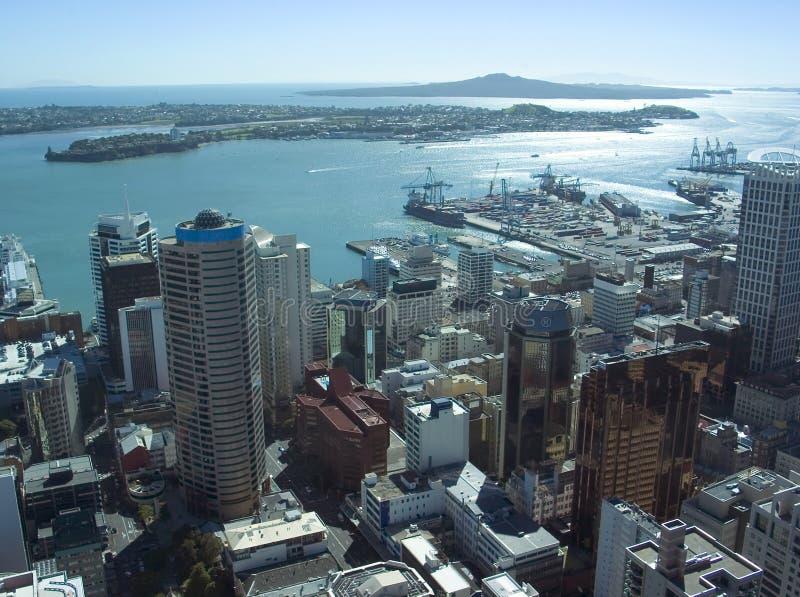 Città di Auckland immagine stock