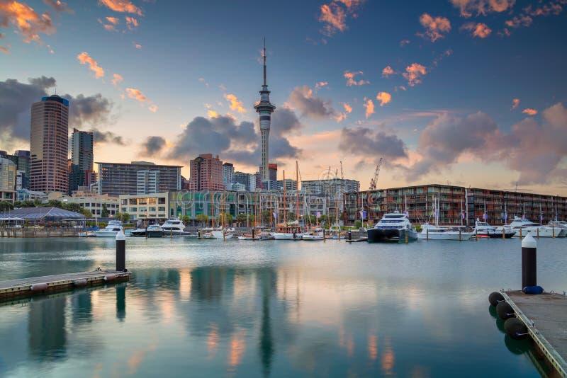 Città di Auckland, Nuova Zelanda fotografie stock