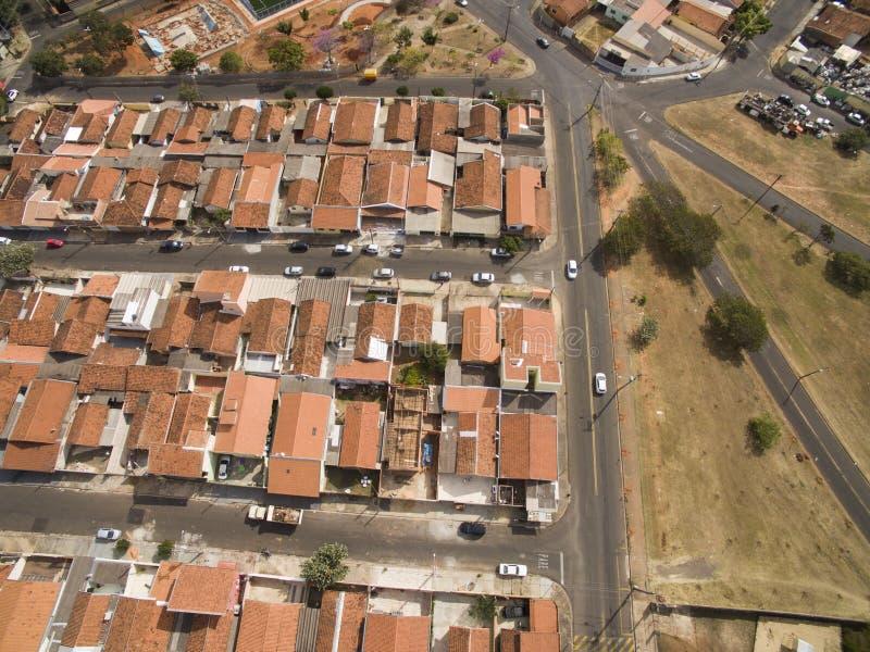 Città di Botucatu a Sao Paulo, Brasile Sudamerica immagini stock
