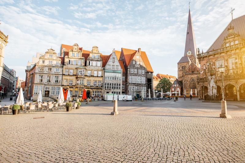 Città di Brema in Germania fotografia stock