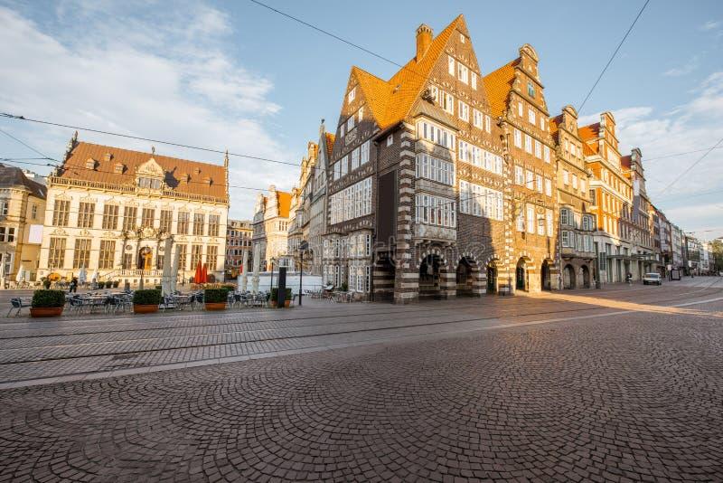 Città di Brema in Germania fotografia stock libera da diritti