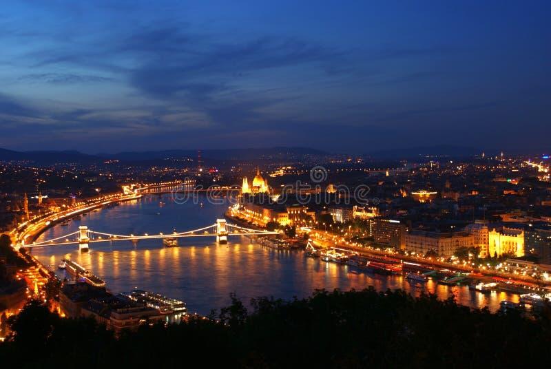 Città di Budapest fotografia stock