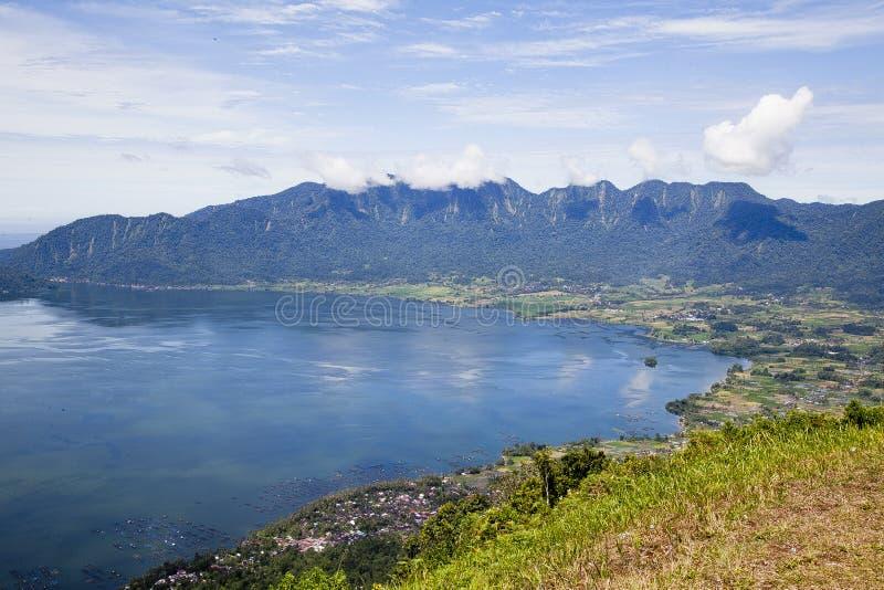 Città di Bukittinggi in Sumatra ad ovest fotografia stock libera da diritti