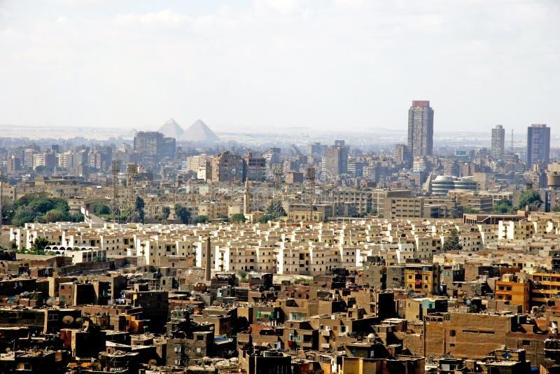 Città di Cairo fotografie stock