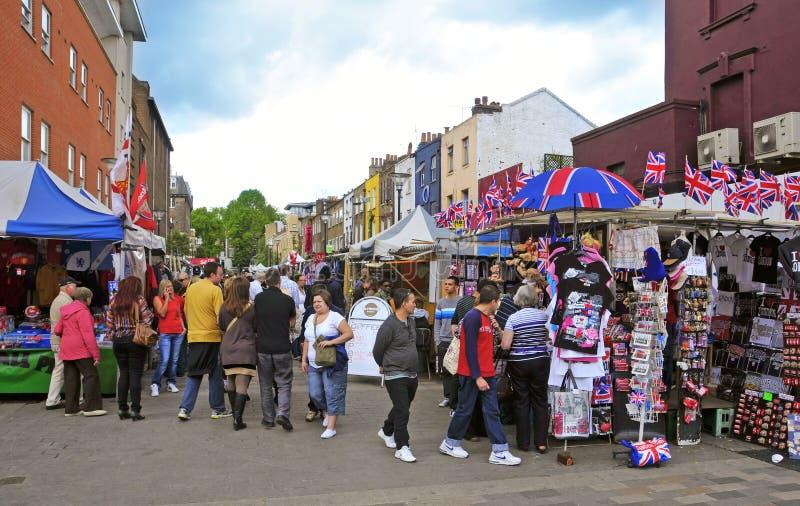 Città di Camden a Londra, Regno Unito fotografia stock