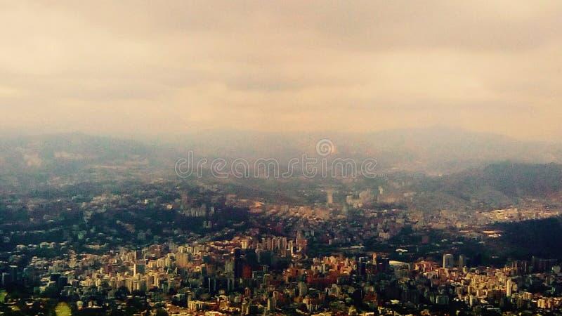 Città di Caracas fotografia stock