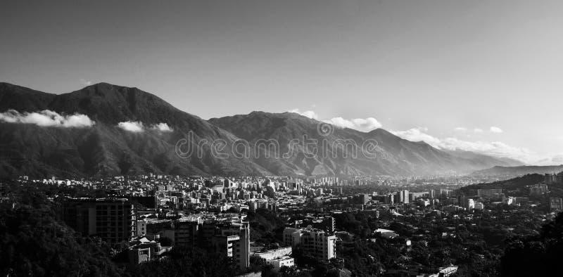 Città di Caracas immagine stock