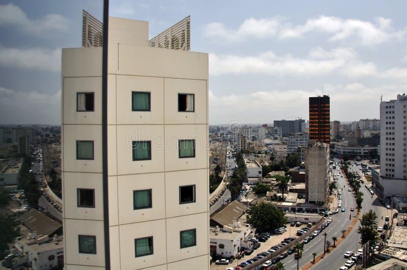 Città di Casablanca, Marocco fotografia stock