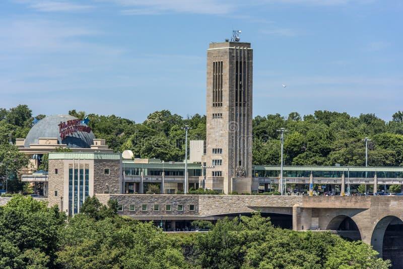 Città di cascate del Niagara immagini stock libere da diritti