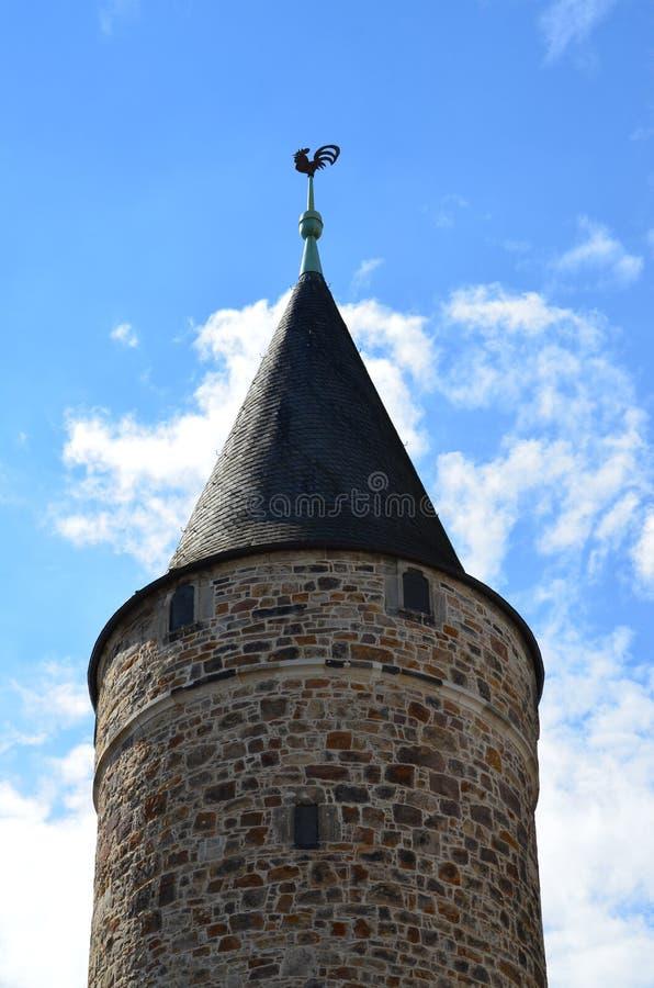 Città di Cassel, Germania fotografie stock libere da diritti