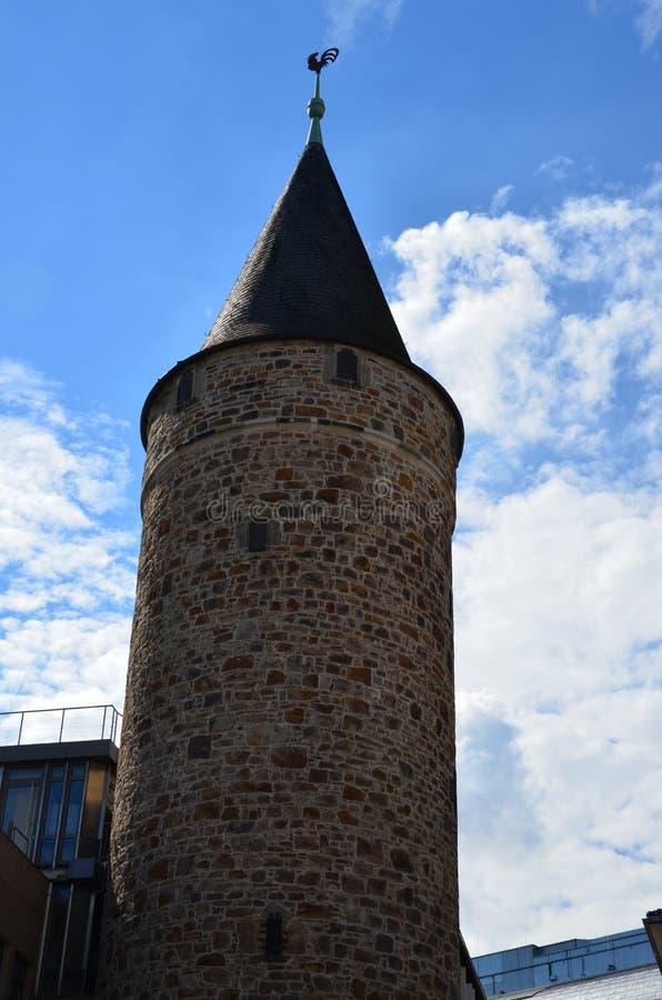 Città di Cassel, Germania fotografia stock libera da diritti
