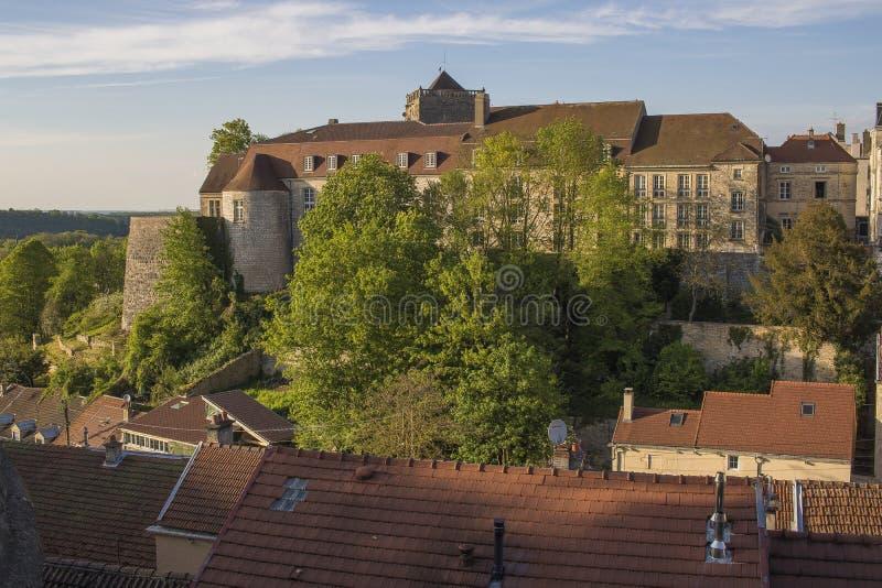 Città di Chaumont, Francia fotografia stock libera da diritti