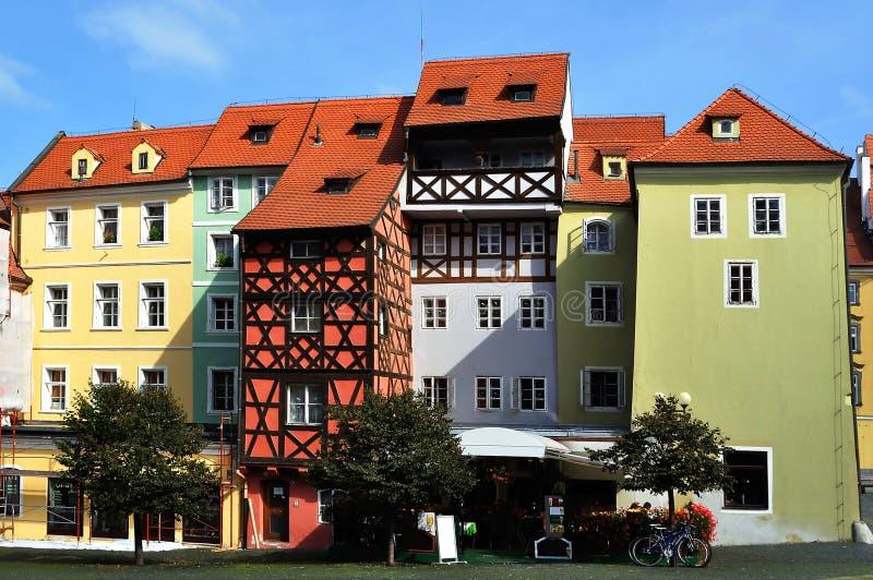 Città di Cheb, Repubblica ceca fotografia stock