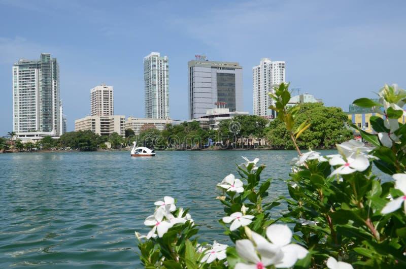Città di Colombo immagini stock libere da diritti