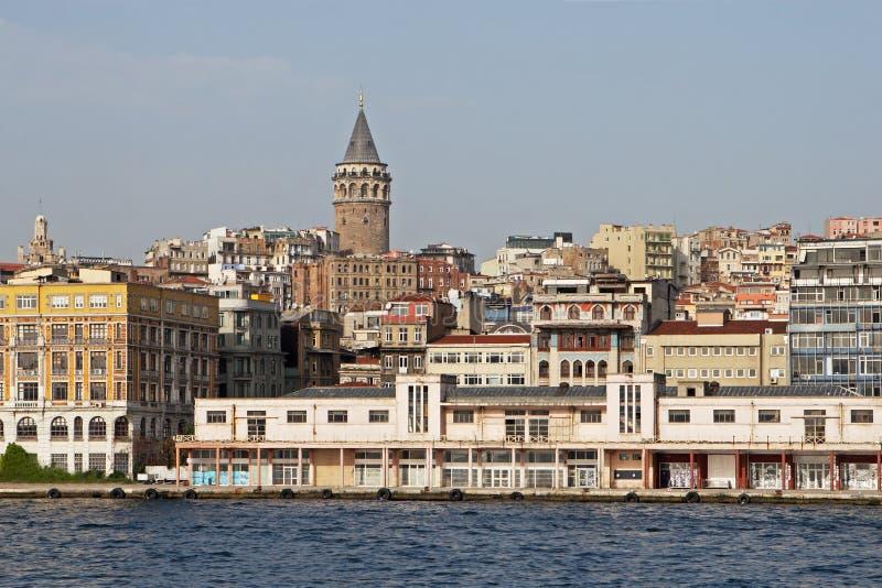 Città di Costantinopoli immagine stock