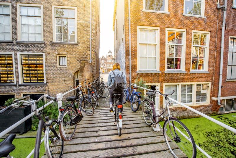 Città di Delft in Netherland immagine stock libera da diritti