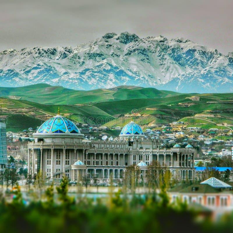 Città di Dušanbe immagini stock libere da diritti