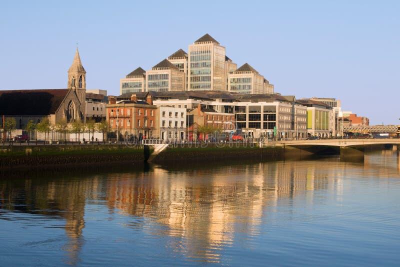 Città di Dublino fotografia stock