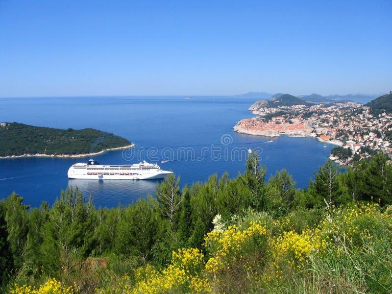 Città di Dubrovnik immagini stock