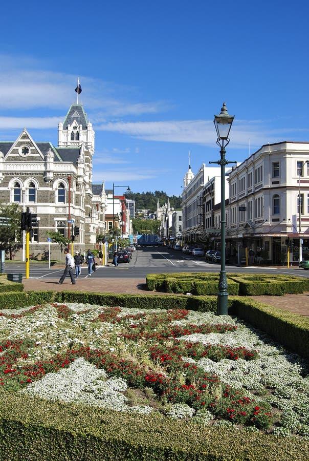 Città di Dunedin fotografie stock