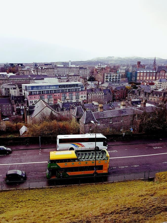 Città di Edimburg fotografie stock libere da diritti