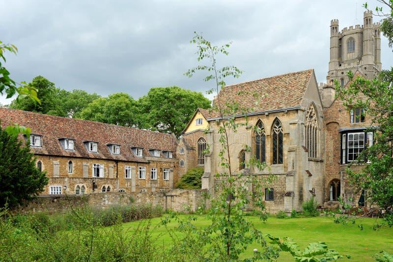 Città di Ely, Cambridgeshire, Inghilterra immagini stock libere da diritti