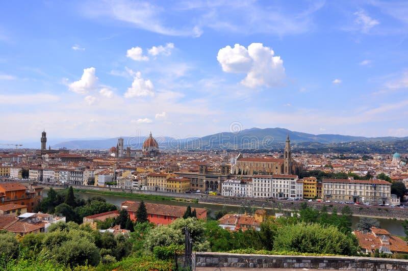Città di Firenze, Italia   immagine stock