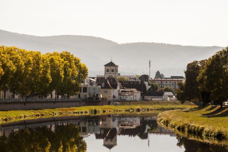 Città di Gaggenau - Germania fotografia stock