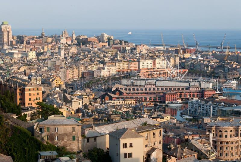 Città di Genova immagine stock libera da diritti
