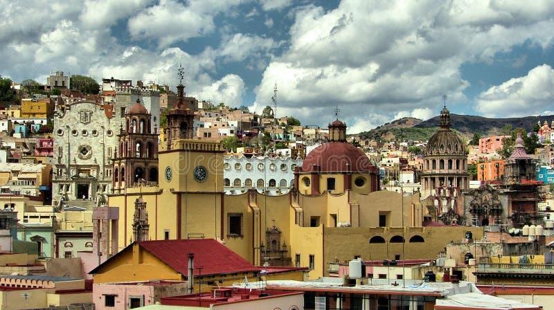 Città di Guanajuato fotografia stock libera da diritti