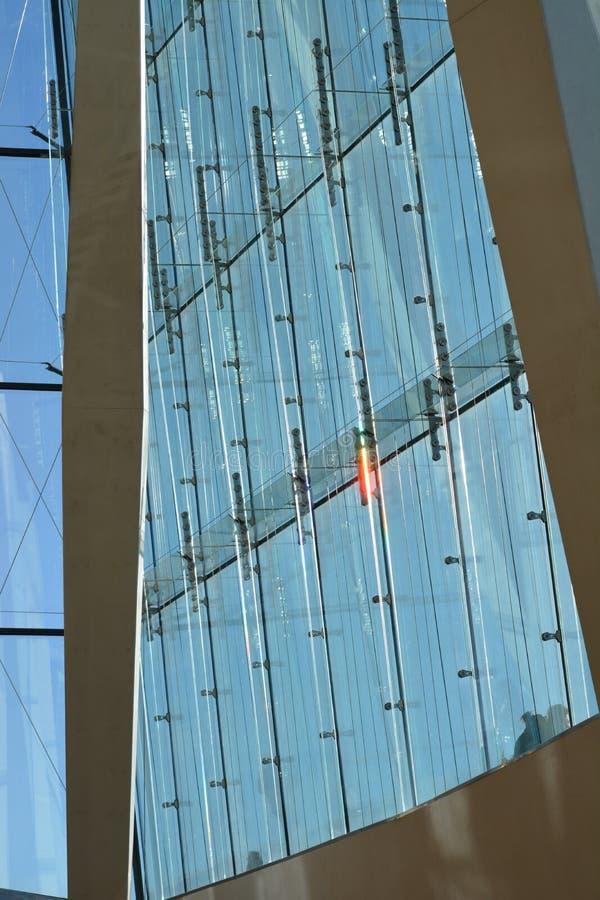 Città di House_Oslo di opera di Oslo immagini stock