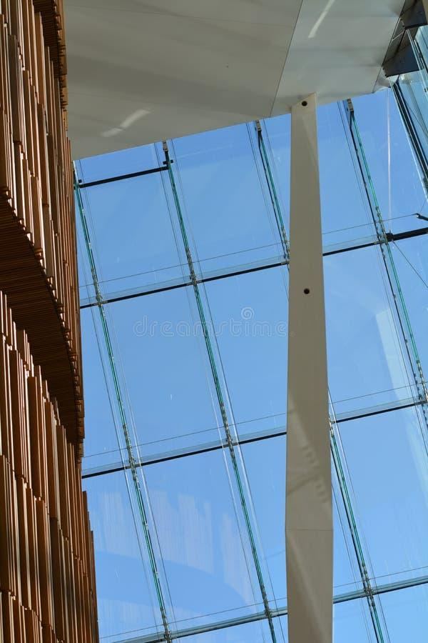 Città di House_Oslo di opera di Oslo fotografie stock