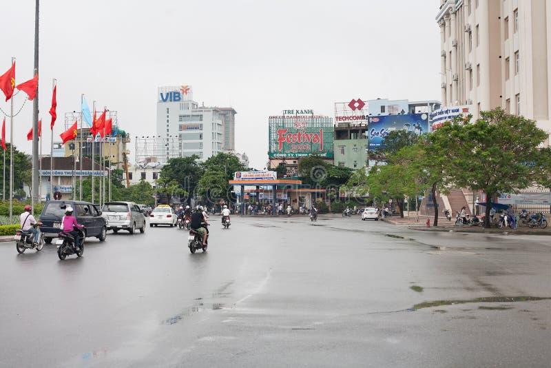 Città di Hue Vietnam immagini stock libere da diritti