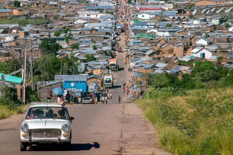 Città di Ilakaka fotografia stock libera da diritti