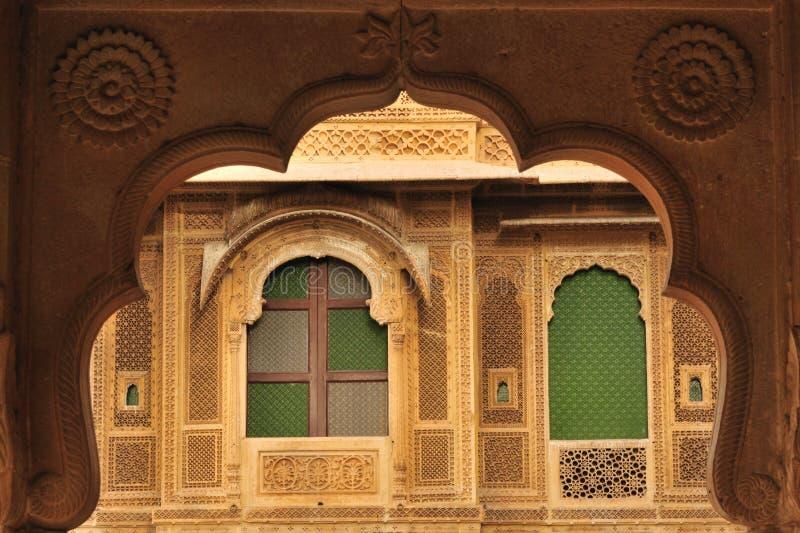 Città di Jaisalmer - dell'India fotografia stock