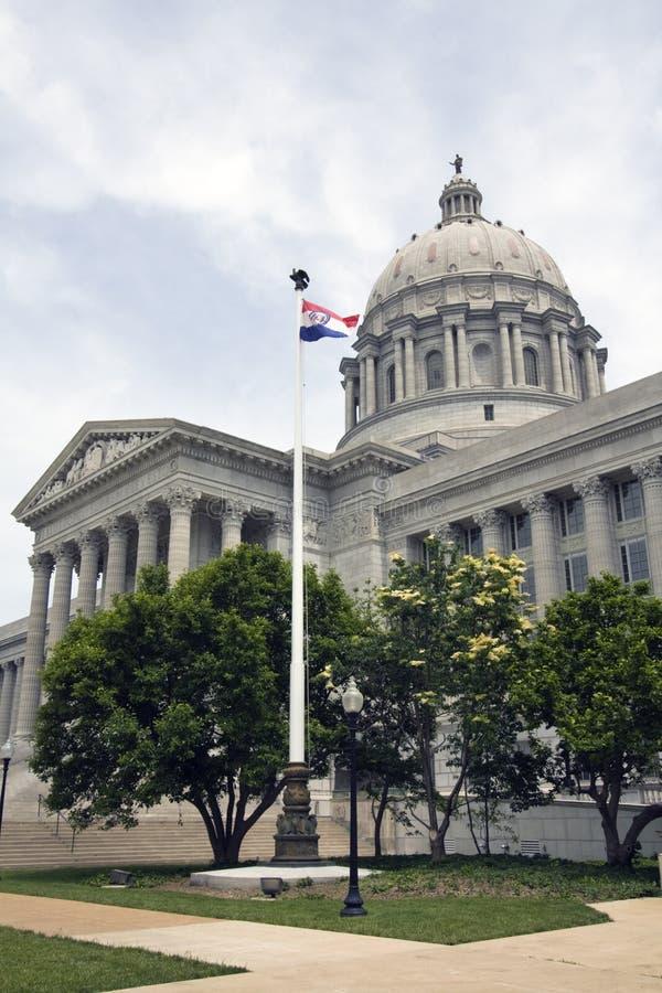Città di Jefferson, Missouri - condizione Campidoglio immagine stock libera da diritti