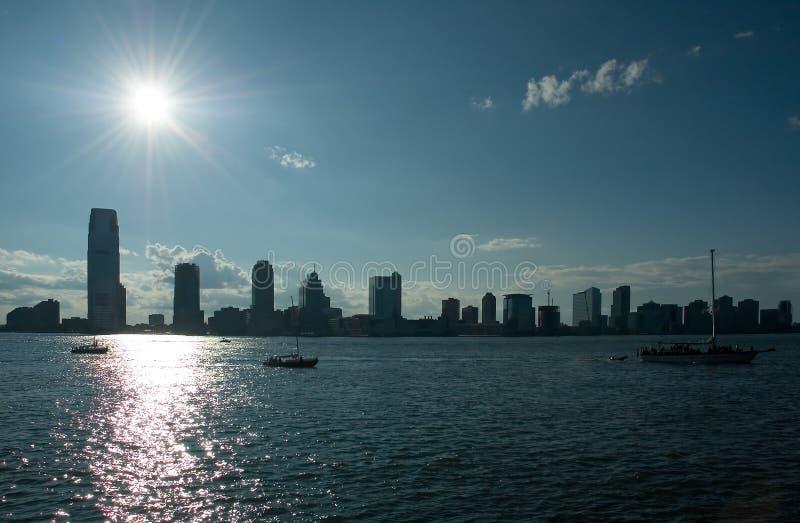 Città di Jersey immagine stock