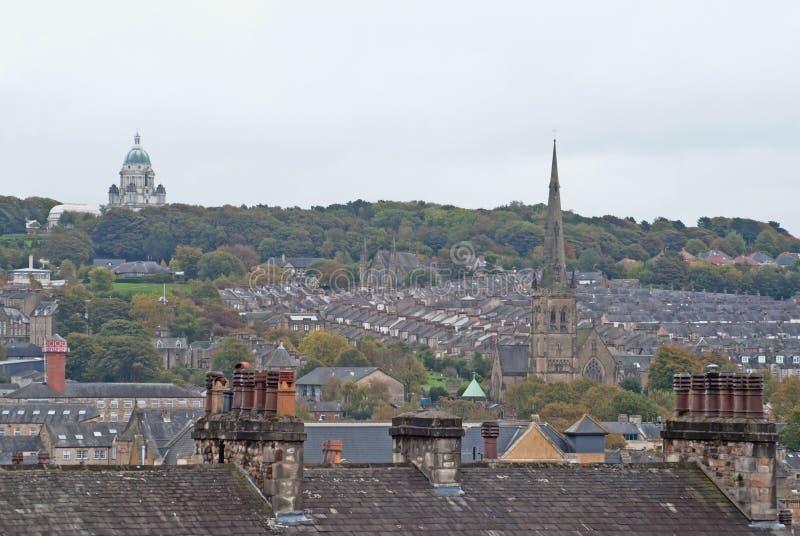 Città di Lancaster fotografie stock libere da diritti
