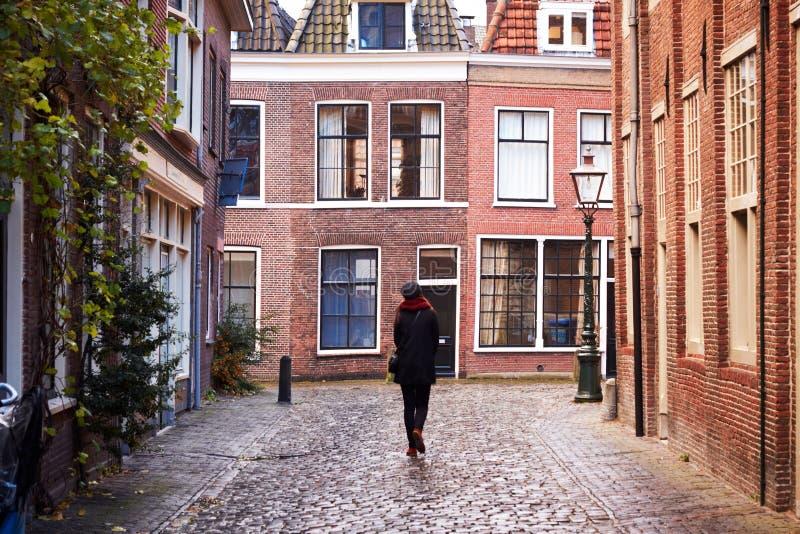 Città di Leida, Paesi Bassi fotografia stock
