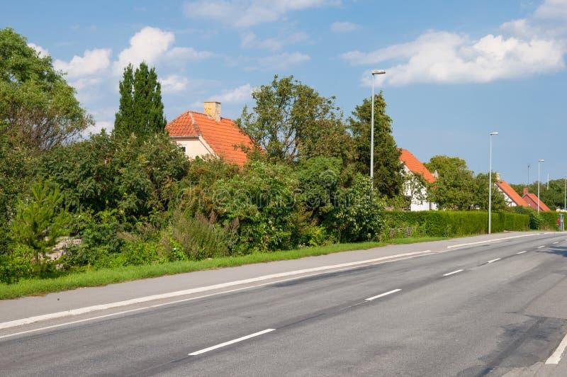 Città di Lendemarke in Danimarca fotografia stock libera da diritti