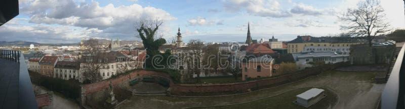 Città di Linz Austria fotografia stock