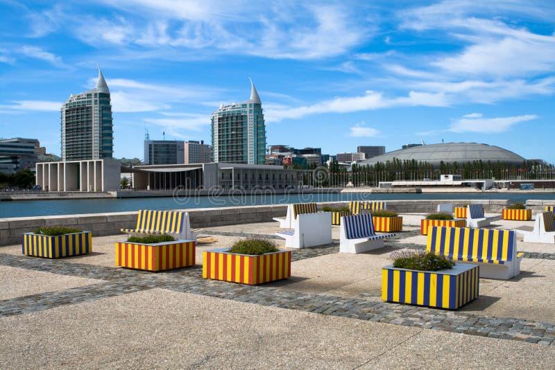 Città di Lisbona fotografie stock libere da diritti