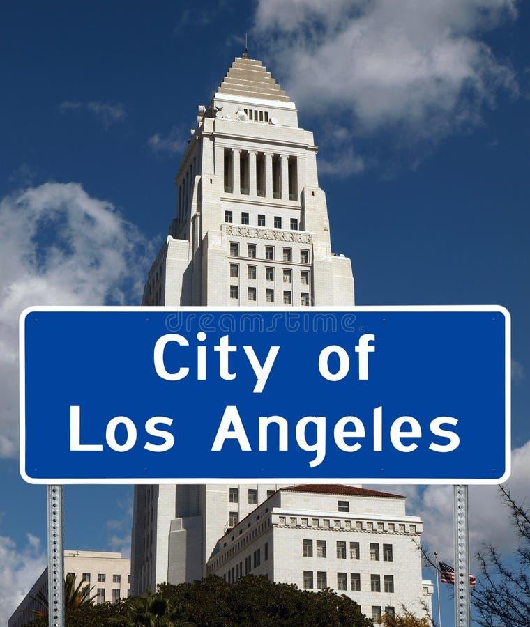 Città di Los Angeles immagini stock libere da diritti