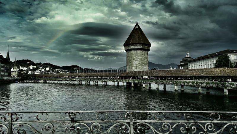 Città di Lucerna immagine stock libera da diritti