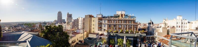 Città di Madrid fotografie stock libere da diritti